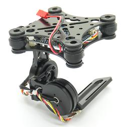2-Axis Brushless Gimbal for FPV Camera Drones Lightweight CN