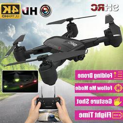 2020 WiFi FPV RC Drones 4K HD Camera Travel Foldable Quadcop