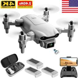 2021 New RC Drone 4k HD Wide Angle Camera WIFI FPV Drone Dua