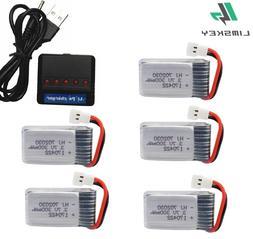 3.7V 300mAH Lipo <font><b>Battery</b></font> and Charger For