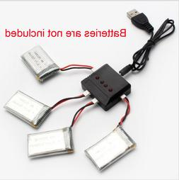 4-in-1 Battery Charger for Syma X5C, X5C-1, X5SW RC Quadcopt