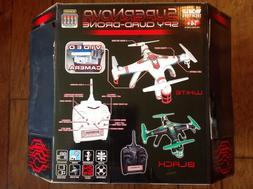 World Tech Toys 2.4GHz 4.5 Ch Supernova SPY Quad-Drone Camer