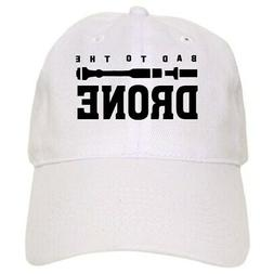 CafePress BAD TO THE DRONE 100% Cotton Cap