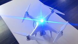 BLUE Flytron Strobon Cree LED Drone Strobe UAV battery Light