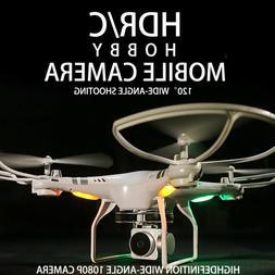 Clone DJI Phantom 3! Drones With HD Camera 5MP 1080P 6-Axis