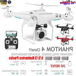 Clone DJI Phantom 4 ! RC Drone With 1080P HD Camera Wifi FPV