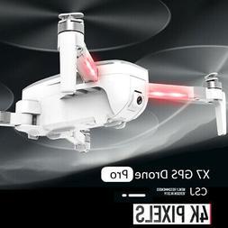 CSJ-X7GPS Brushless 4K Drone w/ Camera 5G Wifi FPV Foldable