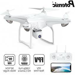 Potensic D58 Drone 5G WiFi FPV HD 1080P Camera GPS RC Quadco