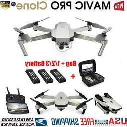 DJI Mavic Pro Platinum Clone Drone Wifi FPV 1080P Camera Fol