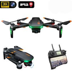 Drone 4K GD91 Pro with 2 axis gimbal drones stabilizer GPS 1