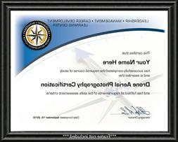 Drone Aerial Photography Certificate / Diploma - Remote Pilo