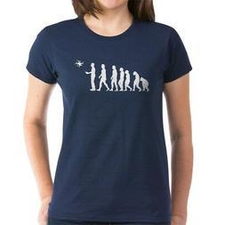 CafePress Drone Evolution Women's Classic T Shirt Womens T-S