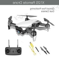 Drone X12S With 1080P HD Dual Camera FPV Foldable Follow Me