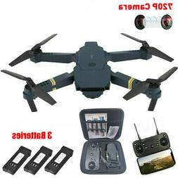 Eachine E58 RC Drone 720P HD Camera FPV WIFI Foldable Quadco
