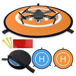 EXSPORT D75cm Drone Landing Pad for DJI Spark, DJI Mavic Pro