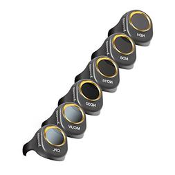 Ultimaxx 8 Pieces Filter Set for DJI Spark Drone Quadcopter