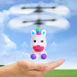 Flying Unicorn Toys Mini Hand Controlled Drones Kids Boys Gi