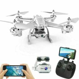 Foldable Drone with Camera WiFi FPV Quadcopter with Wide-Ang