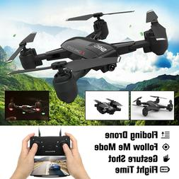 Foldable WIFI RC Drone With HD 1080P Camera Selfie Follow He