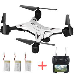 Foldable WIFI FPV RC Quadcopter Selfie Drone with 1080P HD 5
