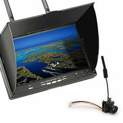 5.8GHz FPV System Camera, Monitor, 2000mW Video Transmitter