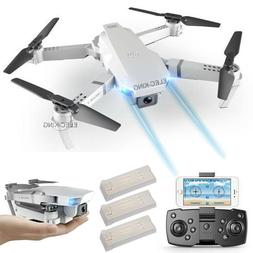 Cooligg FPV Wifi RC Drone With HD Camera Foldable Quadcopter