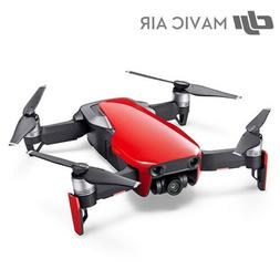 Genuine DJI Mavic Air Drone - Red with 4K 3-Axis Gimbal Came