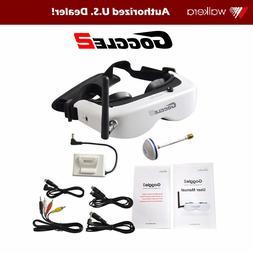 Walkera Goggle 2 FPV Goggles 5.8G 8 Channel Receiver Drone R