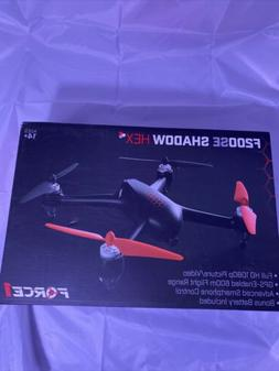 Force1 GPS Drones with Camera - F200SE Shadow Hex 1080p HD W