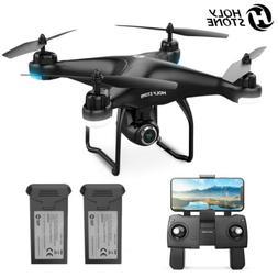 2K HD Camera Holy Stone HS120D FPV Drone GPS RC Selfie Quadc