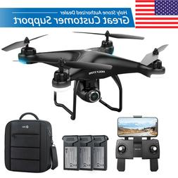 HS120D FPV Drones with 1080p HD Camera GPS RC Quadcopter Fol