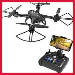 HS200D FPV RC Drone W 720P Camera 120°FOV Live Video Wifi Q