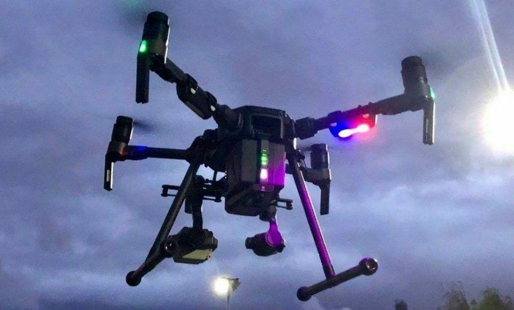 2 Police Anti DJI inspire 2 Drone