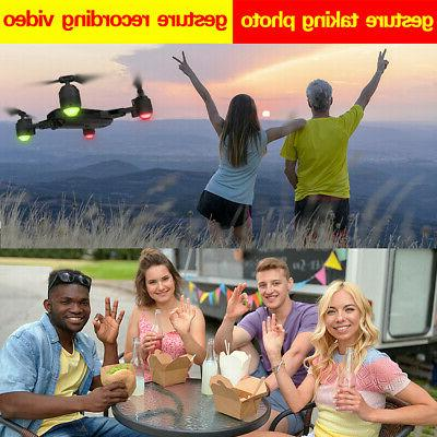 2020 FPV RC Drones 4K Travel Foldable Quadcopter Me Gifts