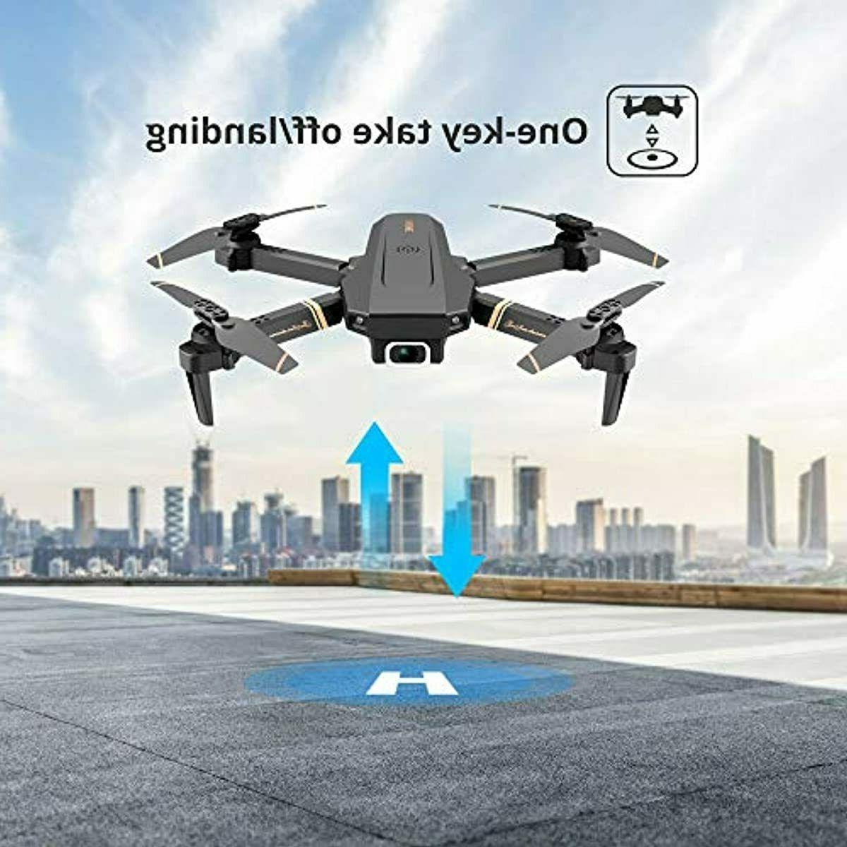 4DRC V4 Foldable with 1080p HD for and Kids, Quadcopter with
