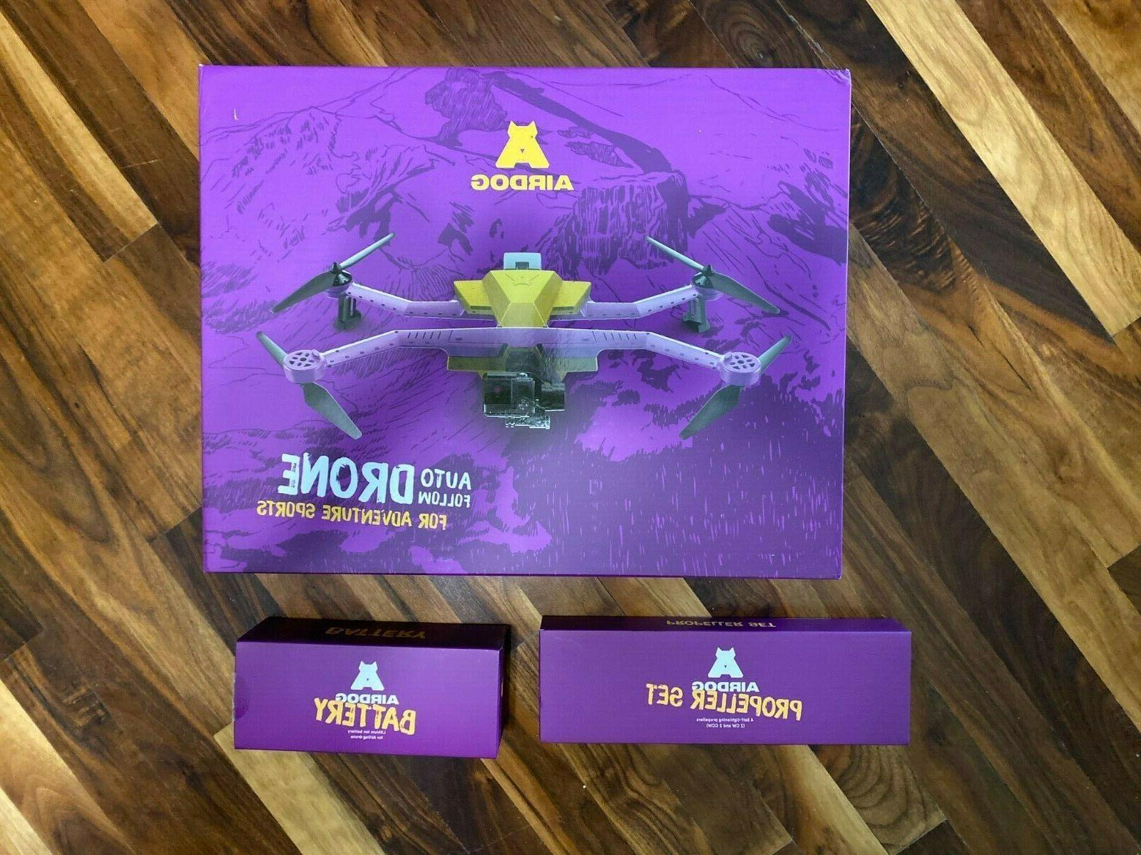 AirDog Auto Follow Sports Drone NEW