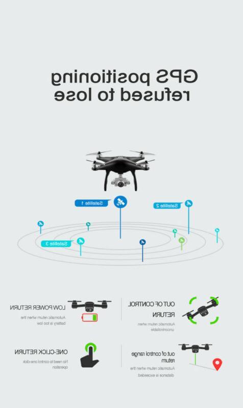 Clone DJI !! Drones HD Camera WIFI Brushless RC Quadcopter