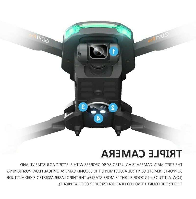 Drone w/ 2 gimbal stabilizer, & Flow,