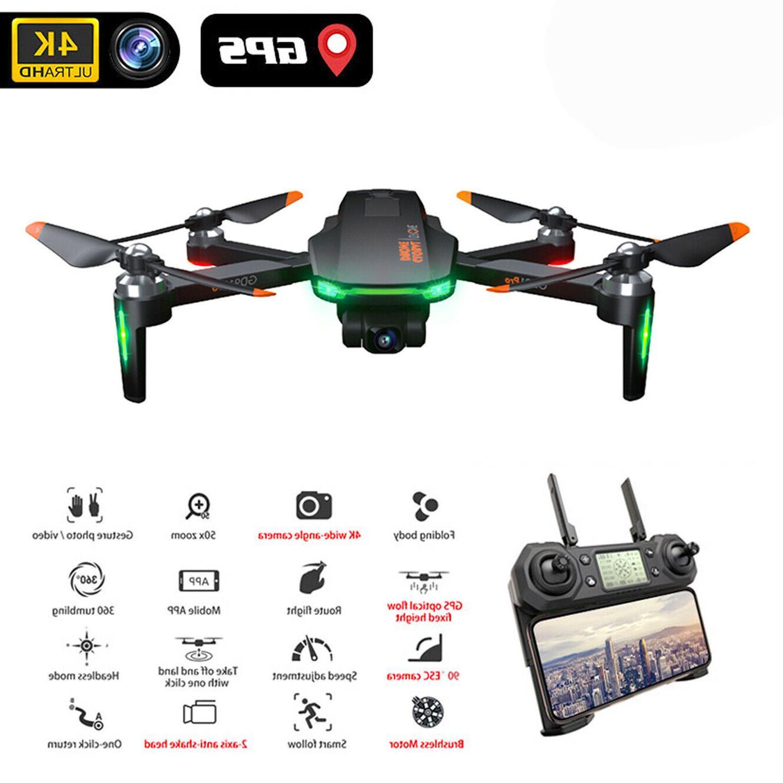 Drone 4K with gimbal drones GPS long range