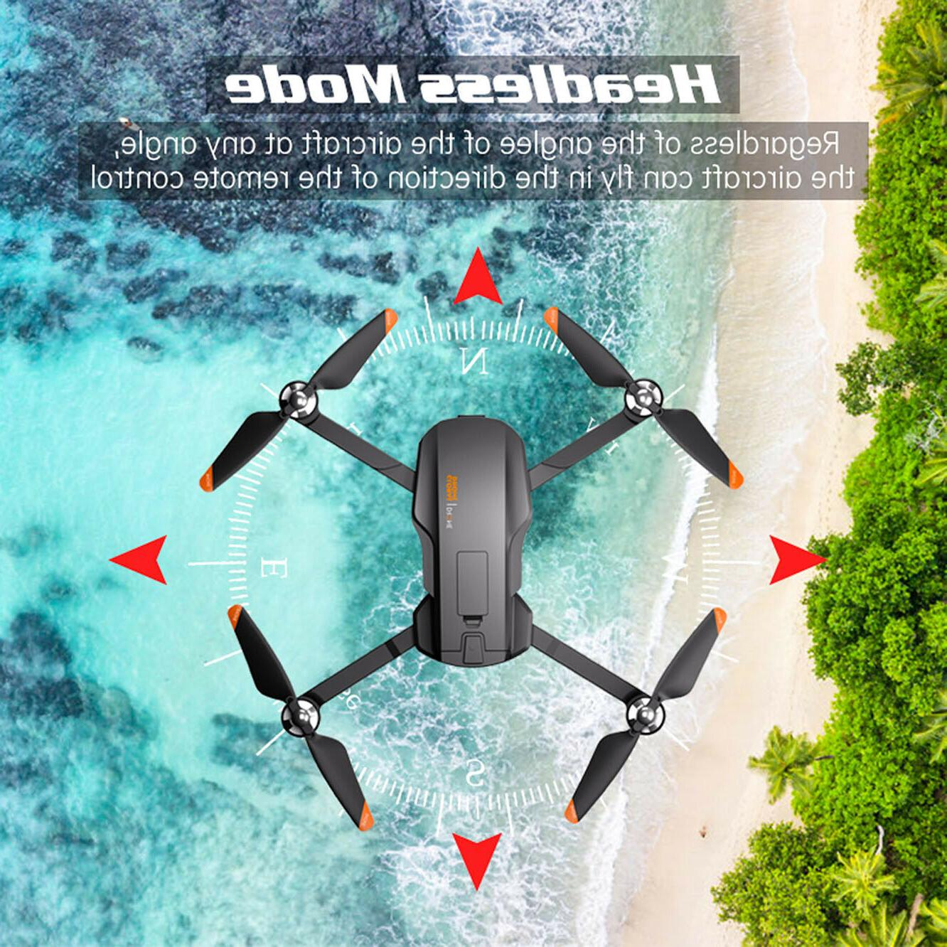 with 2 axis gimbal drones GPS long