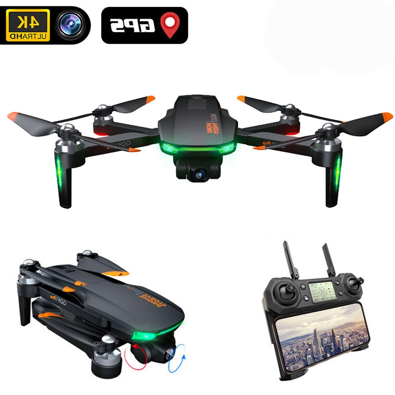 drone 4k gd91 pro with 2 axis