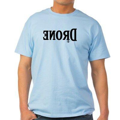 drone light t shirt 100 percent cotton