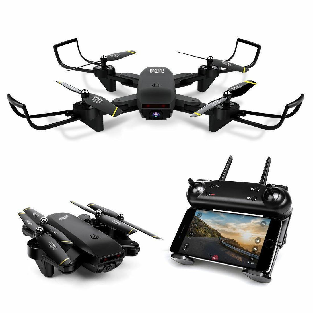 S169 Wifi Flow Quadcopter Dual HD Camera Drone
