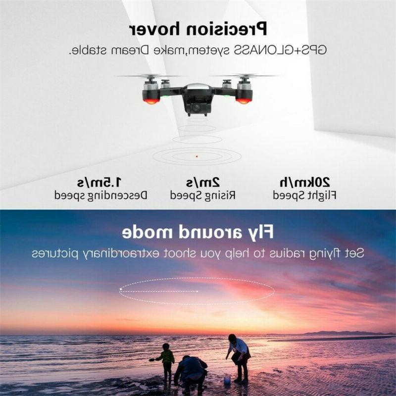 Drone HD GPS 2-Axis Gimbal 1080P 5G WIFI Brushless