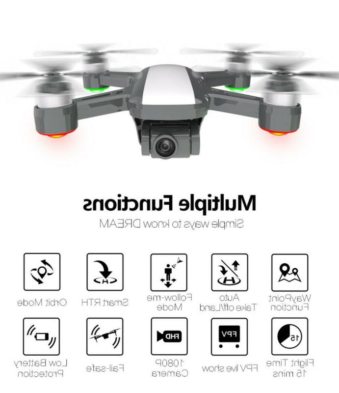 Drone GPS 2-Axis 5G WIFI FPV Brushless RC