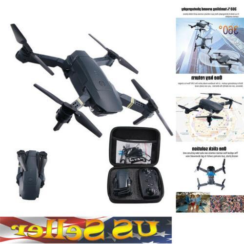 FPV Quadcopter HD Camera Foldable Selfie Toy Trajectory Flip