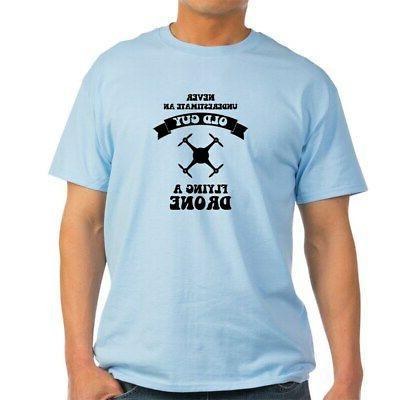 funny drone 100 percent cotton t shirt