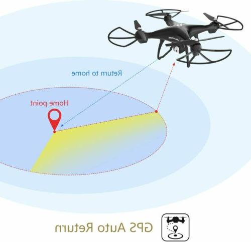 Holy HS100G Drone with 1080P Video Camera GPS Quadcopter