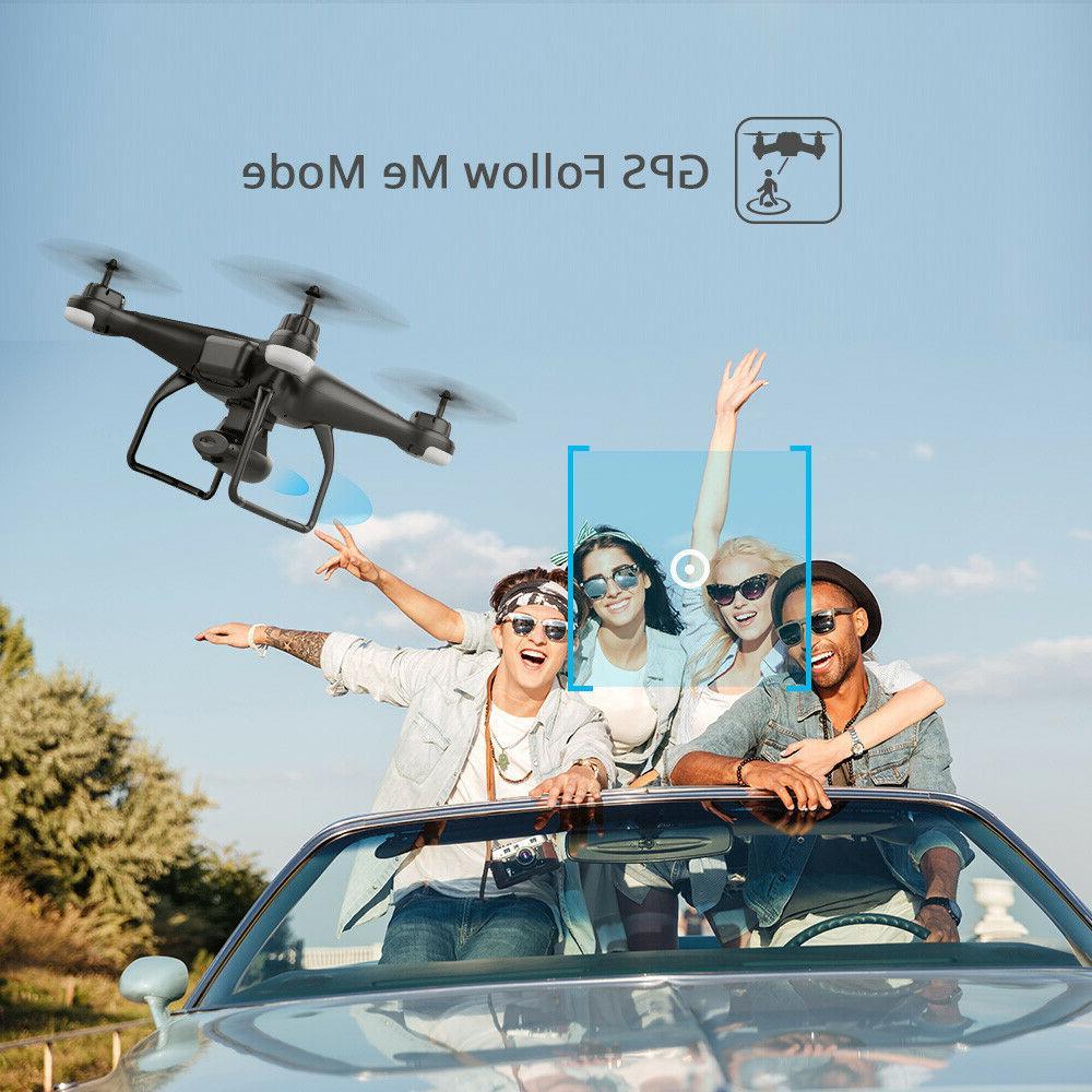 Holy Stone HS120D FPV Drones 1080p Camera RC Follow Me
