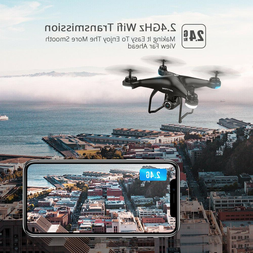 Holy HS120D Drones with 1080p HD Camera RC Quadcopter Follow